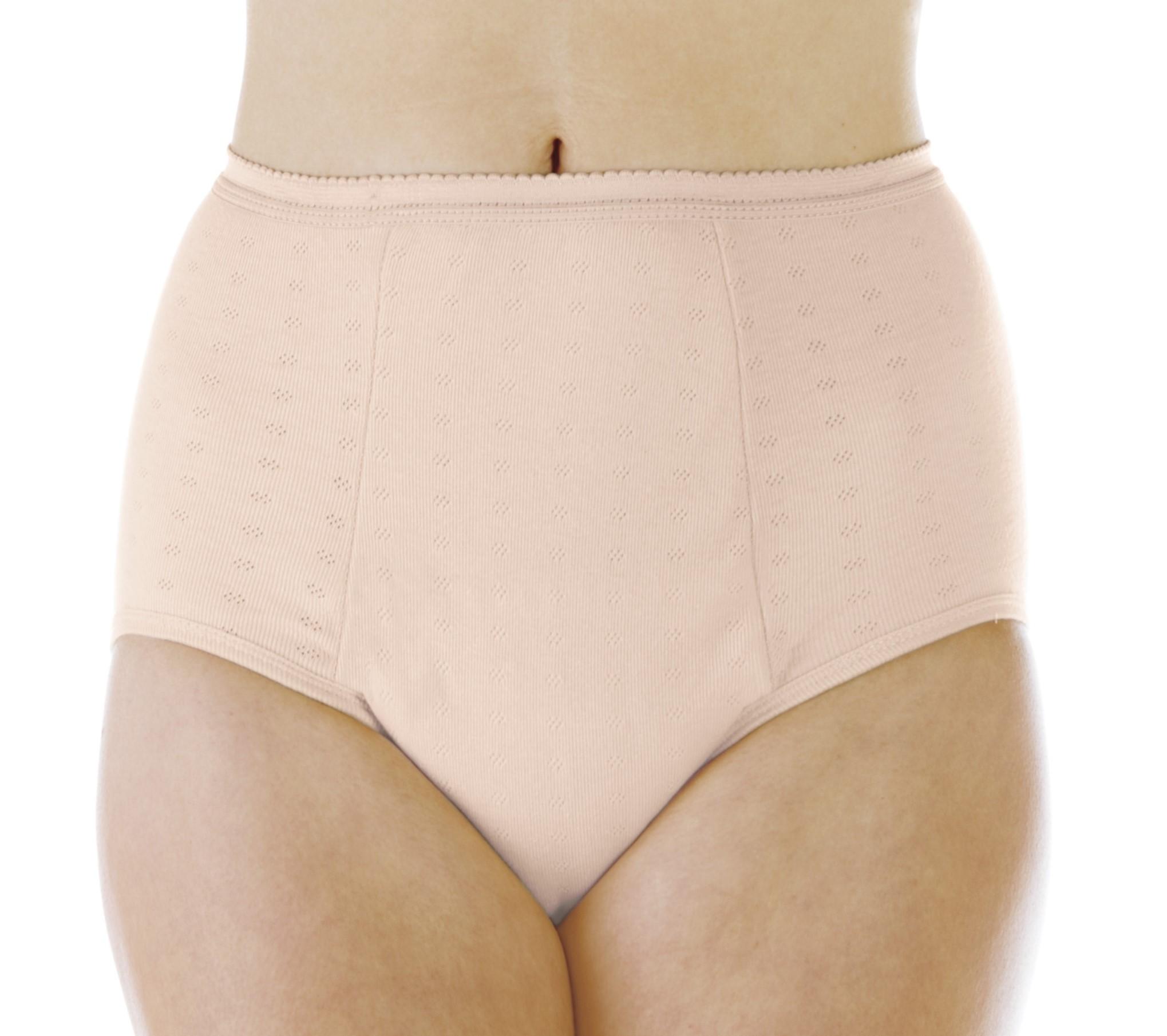 Wearever Washable Reusable Underwear Cotton /& Lace Incontinence Panties 6-Pack